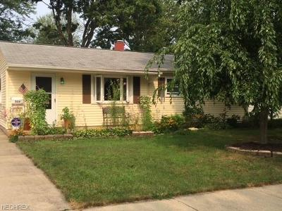 Painesville OH Single Family Home For Sale: $97,500