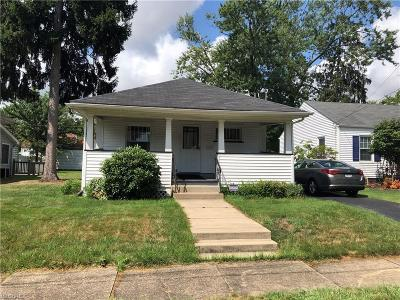 Warren Single Family Home For Sale: 1096 Kenmore