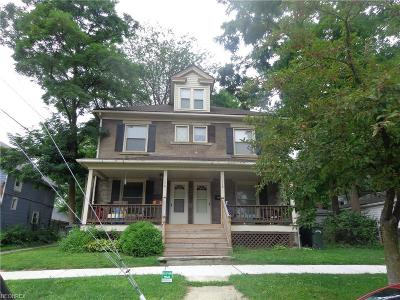 Elyria Multi Family Home For Sale: 116 Saint Clair St