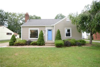 Youngstown Single Family Home For Sale: 7124 Glenwood Ave