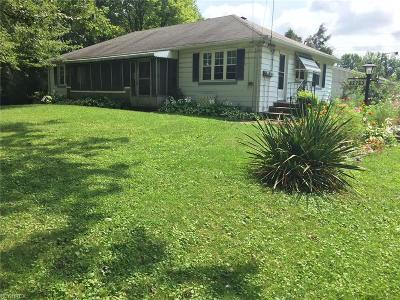 Elyria Single Family Home For Sale: 42763 Dellefield Rd
