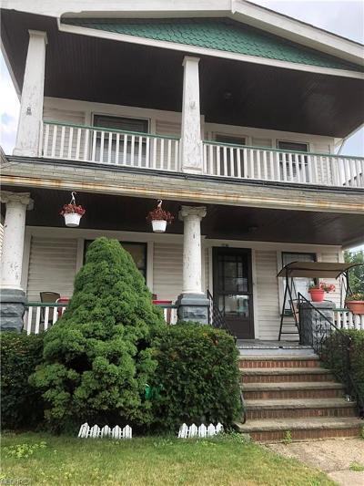 Cuyahoga County Multi Family Home For Sale: 7120 Rathbun Ave