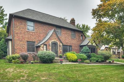 Rocky River Single Family Home For Sale: 326 Northcliff Dr