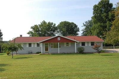 Zanesville Single Family Home For Sale: 3410 Boggs Rd