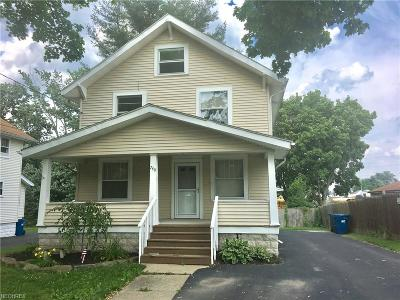 Struthers OH Single Family Home For Sale: $59,900