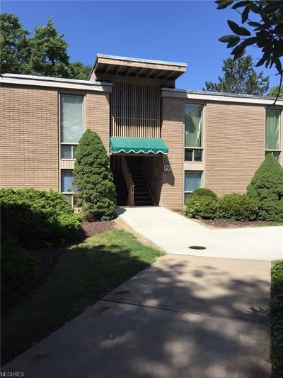 Brecksville Condo/Townhouse For Sale: 6640 Chaffee Ct #4-N
