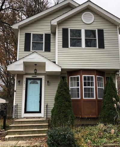 North Olmsted Single Family Home For Sale: 23140 Virginia Ave
