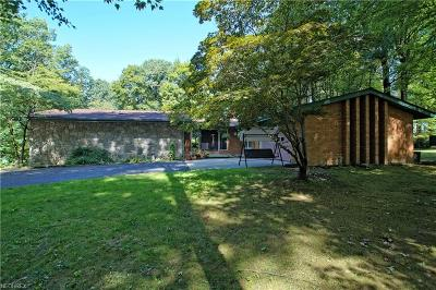 Garrettsville Single Family Home For Sale: 16320 Forgehill Drive Dr