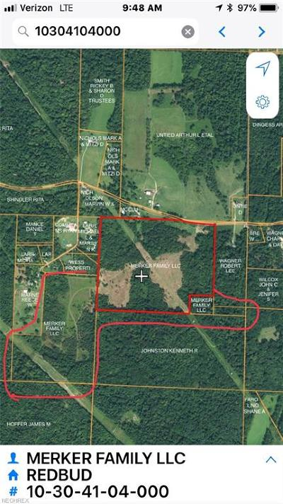 Muskingum County Residential Lots & Land For Sale: Redbud Rd