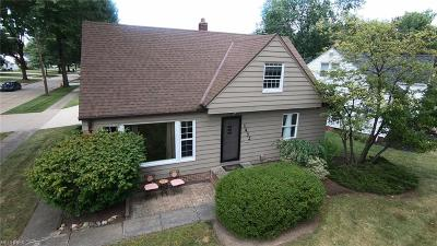 Cuyahoga County Single Family Home For Sale: 1432 Haverston Rd