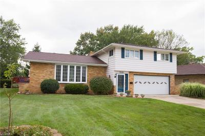 Middleburg Heights Single Family Home For Sale: 7150 Middlebrook Blvd