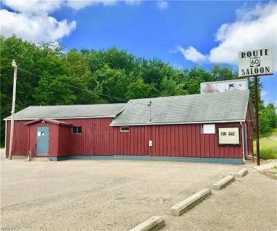 Muskingum County Commercial For Sale: 8615 Frazeysburg Rd