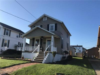 Zanesville Single Family Home For Sale: 548 Winton Ave