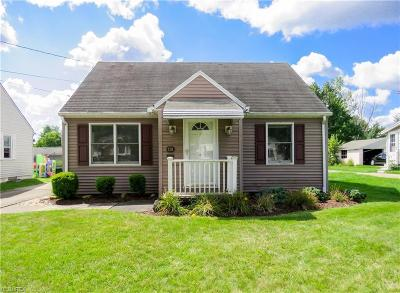 Girard Single Family Home For Sale: 129 Crumlin Ave