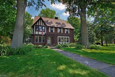 Shaker Heights Single Family Home For Sale: 2933 Southington Rd
