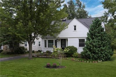 Bay Village, Rocky River Single Family Home For Sale: 565 Lake Forest Dr