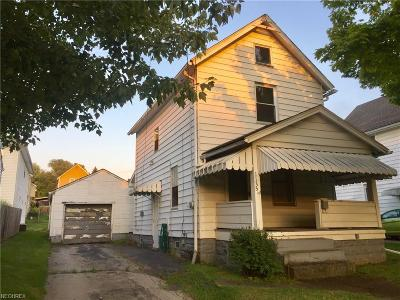 Girard Single Family Home For Sale: 1135 Tod Ave