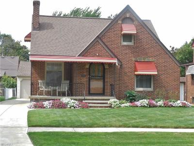 Cleveland OH Single Family Home For Sale: $172,900
