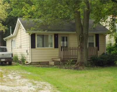 North Ridgeville Single Family Home For Sale: 5665 Pleasant St