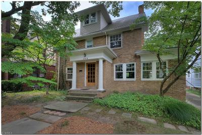 Cleveland Heights Single Family Home For Sale: 2968 Meadowbrook Blvd