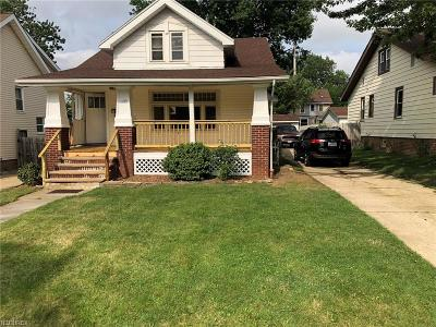 Cleveland OH Single Family Home For Sale: $139,999