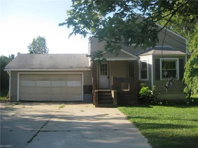 Madison Single Family Home For Sale: 6820 Warner Rd