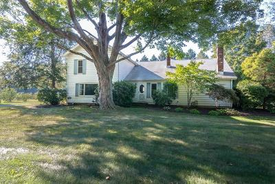 Madison Single Family Home For Sale: 6834 Chapel Rd