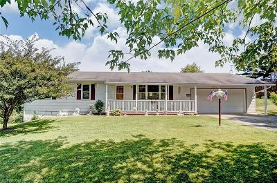 Zanesville Single Family Home For Sale: 5275 Boggs Rd