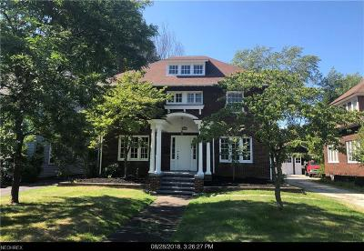 Cleveland Heights Single Family Home For Sale: 2511 Euclid Heights Blvd