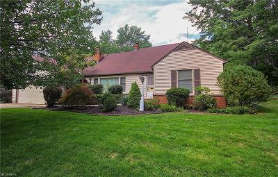 Shaker Heights Single Family Home For Sale: 23401 Bryden Rd