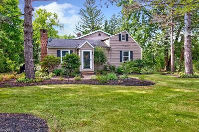Solon Single Family Home For Sale: 35510 Pettibone Rd