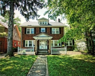 Cleveland Heights Single Family Home For Sale: 3010 Washington Blvd