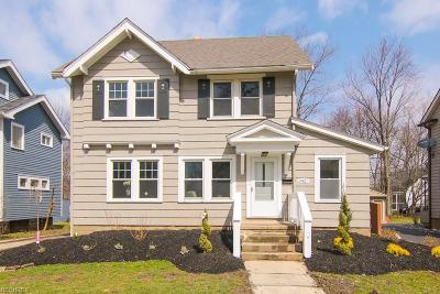 Cleveland Heights Single Family Home For Sale: 3427 East Fairfax Rd