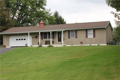 Guernsey County Single Family Home For Sale: 67448 Barrett Hill Rd