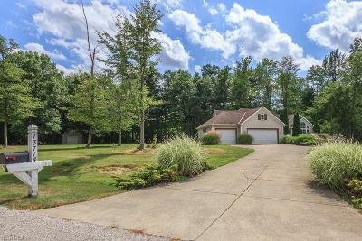 Leroy Single Family Home For Sale: 13714 Maggie Ln