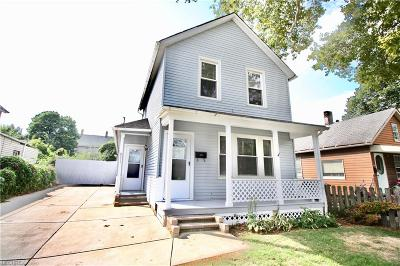 Cleveland Single Family Home For Sale: 6211 Fir Ave