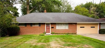 Richmond Heights Single Family Home For Sale: 493 Harris Rd