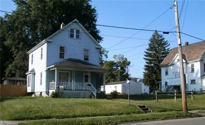 Struthers Single Family Home For Sale: 206 Elm St