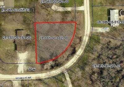 Ashtabula County Residential Lots & Land For Sale: Vl Richwood Drive