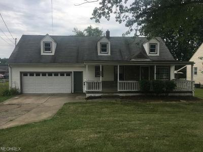 Struthers Single Family Home For Sale: 1030 5th St