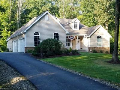 Garrettsville Single Family Home For Sale: 11424 Rolling Meadows Dr