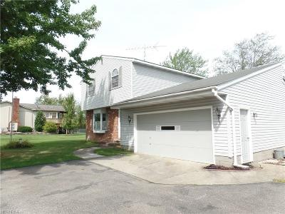 Leroy Single Family Home For Sale: 13858 Radcliffe Rd
