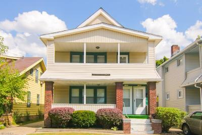 Cuyahoga County Multi Family Home For Sale: 1109 East 169th St