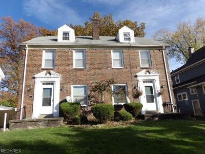 Youngstown Multi Family Home For Sale: 4019 Southern Blvd