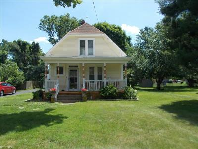 Marietta OH Single Family Home Pending: $122,500