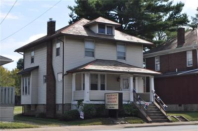 Zanesville Commercial For Sale: 1924 Maple Ave