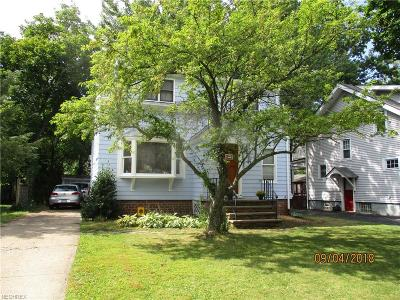 Bay Village Single Family Home For Sale: 338 Kenilworth Rd