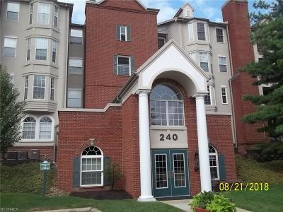 Mayfield Heights Condo/Townhouse For Sale: 240 Fox Hollow Dr #311
