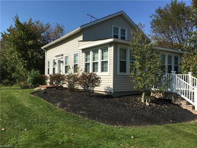 Geauga County Single Family Home For Sale: 14524 Mayfield Rd