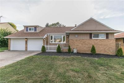 Wickliffe Single Family Home For Sale: 1918 Rush Rd